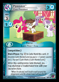 My Little Pony Pipsqueak, Class President Marks in Time CCG Card