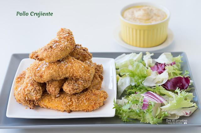 Pollo crujiente sin gluten / Eva en pruebas