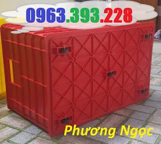 Thùng nhựa đặc 5 bánh xe, thùng nhựa công nghiệp đẩy hàng, thùng nhựa đặc 5bx%25C4%2591