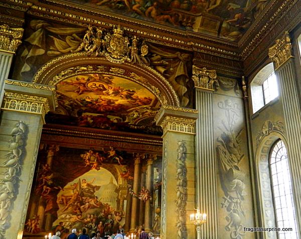 Sala das Pinturas (Painted Room) - Royal Naval College