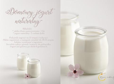 Domowy jogurt naturalny- tylko 2 składniki!