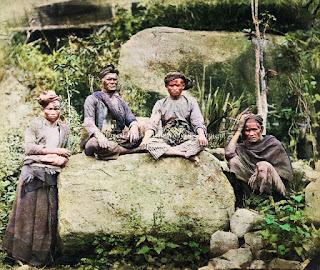 radja manok dan beberapa orang suku batak karo