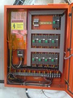 Instalasi Listrik Rumah Tinggal dan Panel Listrik Pabrik