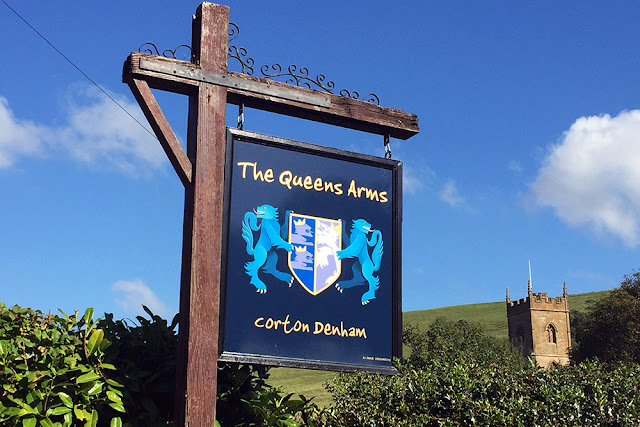The Queen's Arms 5 star country inn in Corton Denham near Sherborne