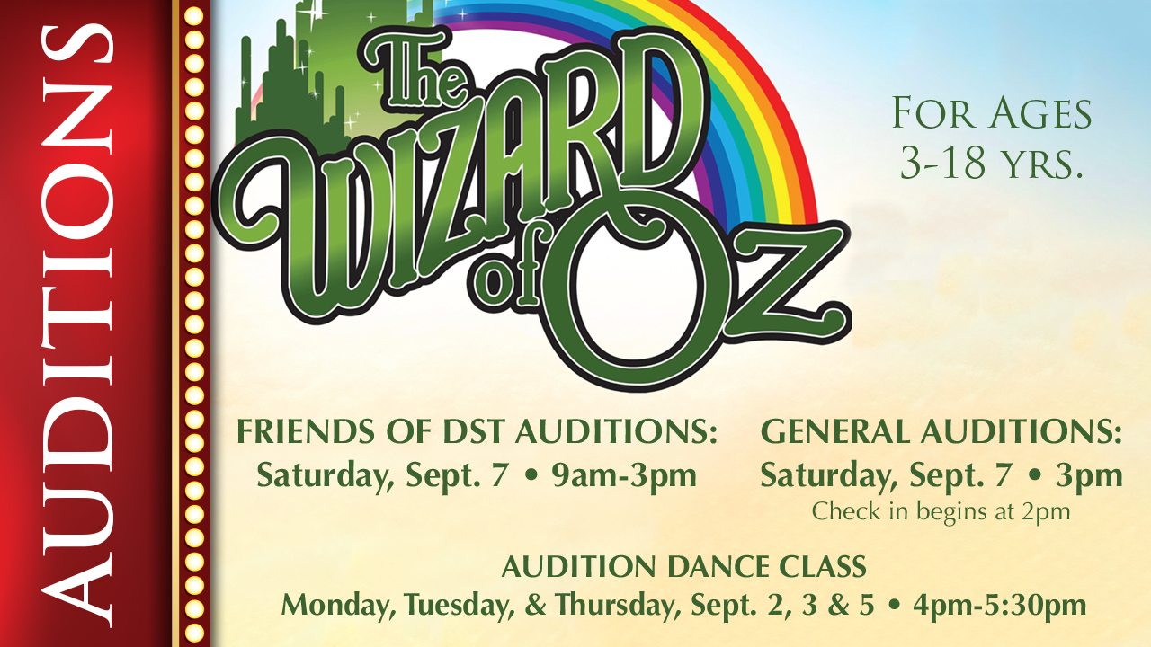 PHX Stages: audition notice - THE WIZARD OF OZ - Scottsdale