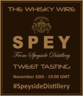 Speyside Distillery Tweet Tasting