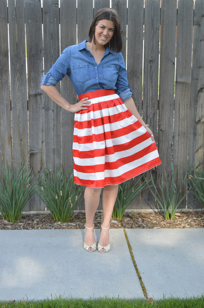 http://taralynnsboutique.com/collections/midi-skirts/products/tara-lynns-striped-midi-skirt-red