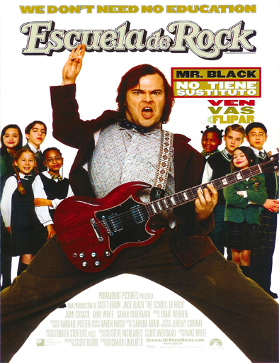 Ver Escuela de Rock (School of Rock) (2003) Online
