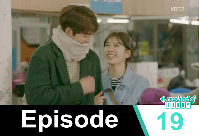 noh eul & joon young happy moments shopping- Uncontrollably Fond - Episode 19 Review