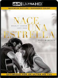Nace una Estrella (2018)4K 2160p UHD [HDR] Latino [GoogleDrive]