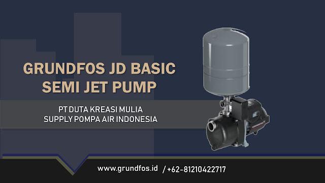 Katalog Pompa Grundfos JD Basic Semi Jet Pump