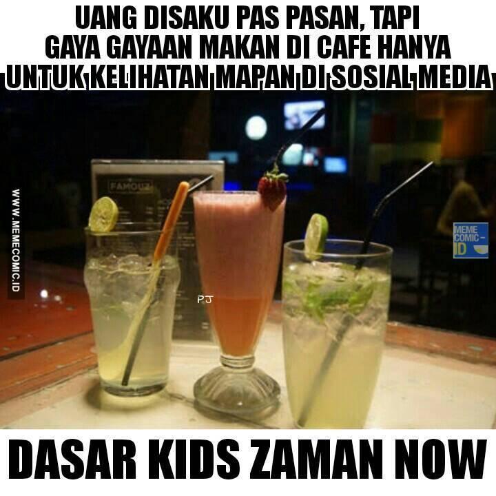 Gambar Meme Kids Jaman Now Lucu Gokil Gambar Kata Kata