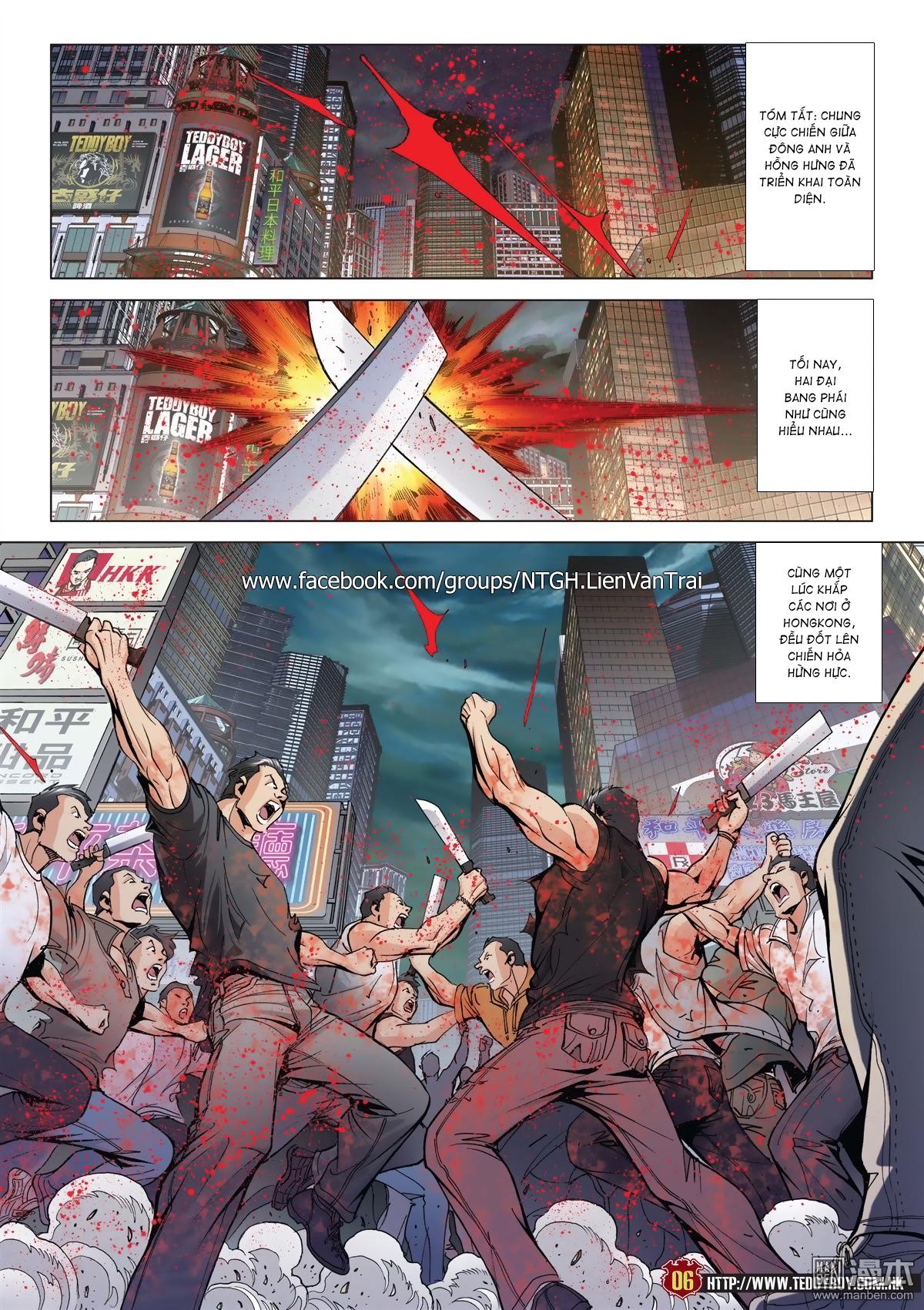 Người Trong Giang Hồ chapter 2015: tọa sơn hổ vs đại phạn trang 3