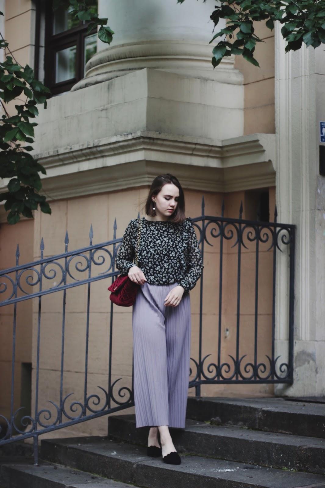 Lavender Culottes | SheIn | Fashion Blogger