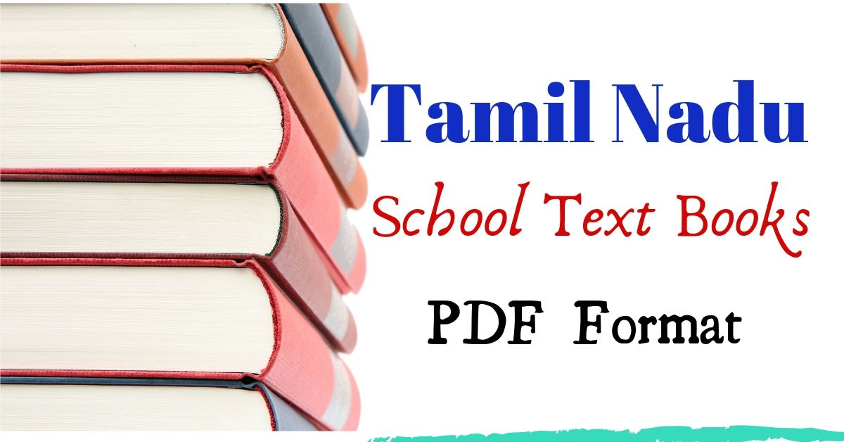 tamilnadu school books