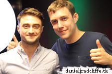 Daniel Radcliffe on BBC Radio 1's Scott Mills