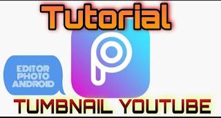 tutorial thumbnail youtube dipicsart