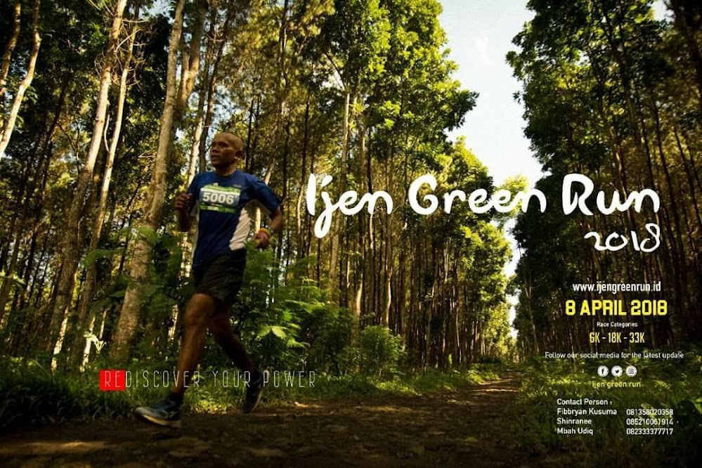Ijen Green Run • 2018