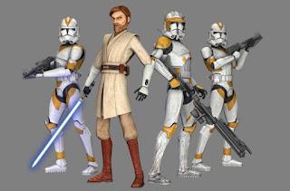 General Obi Wan Kenobi and 212nd