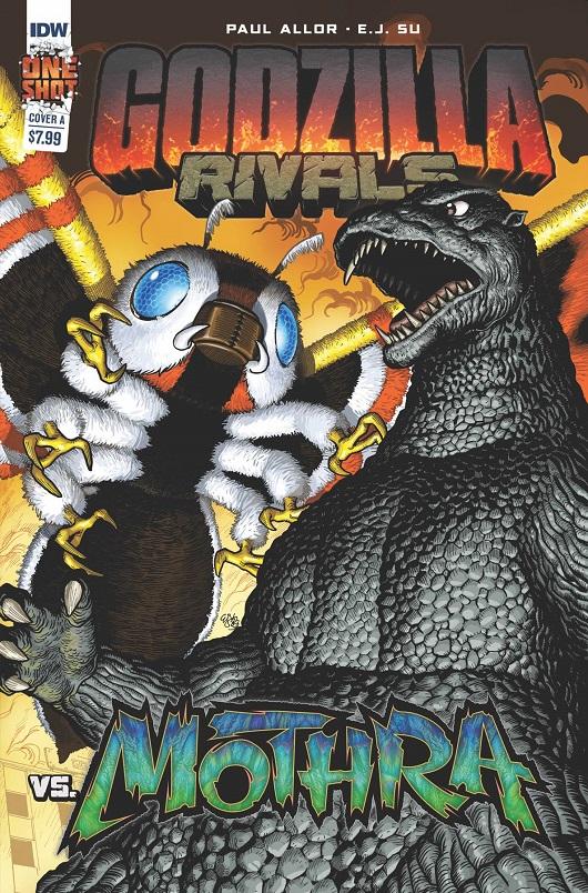 Godzilla Rivals vs Mothra #1