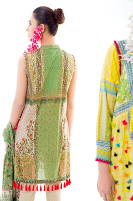 Ethnic by outfitters renaissance unstitched collection for girls