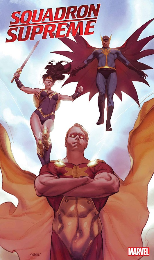Cover of Squadron Supreme Marvel Tales #1