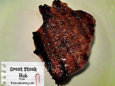 Make your steak, chicken or pork chops sing with my Great Steak Rub!