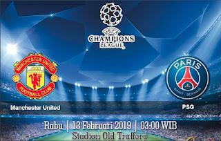 Prediksi Manchester United Vs PSG 13 Febuari 2019