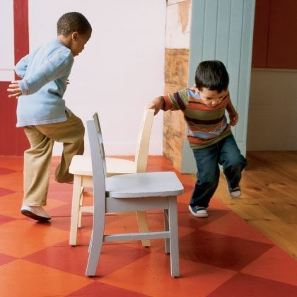 Games: Toddler-Friendly Musical Chairs