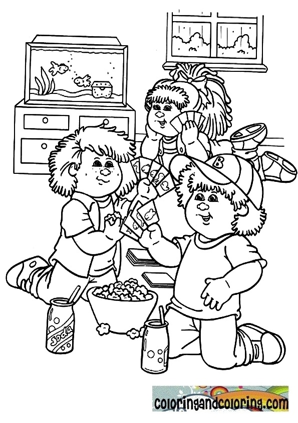 Kins Toys Coloring Pages Alltoys For