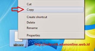 copy Cara Menggunakan Winbox Mikrotik