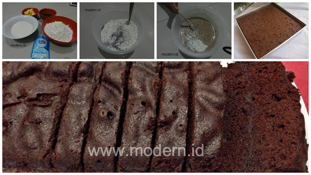 Resep Brownies Kukus Tanpa Mixer Super Lembut