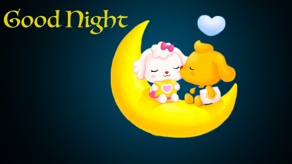Cute Romantic Good Night Love Picture