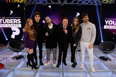 Viih Tube, Christian Figueiredo, Kevinho, Raul Gil, Giovanna Chaves e T3ddy / (Foto: Rodrigo Belentani)