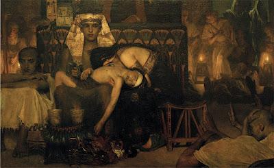 Las plagas y epidemias en egipto, Alfredo Arrebola