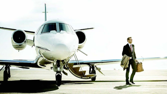 private jet has a great impression