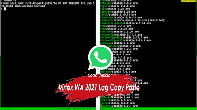 Virtex WA 2021 Lag Copy Paste