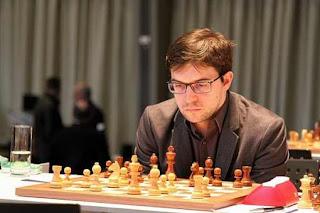 Maxime Vachier-Lagrave au Grenke Chess Classic - Photo © Georgios Souleidis