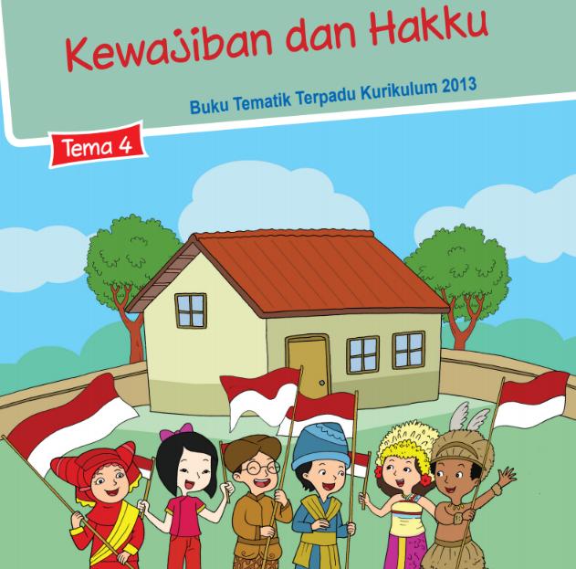 Buku Siswa Kelas 3 SD/MI Tema 4: Kewajiban dan Hakku