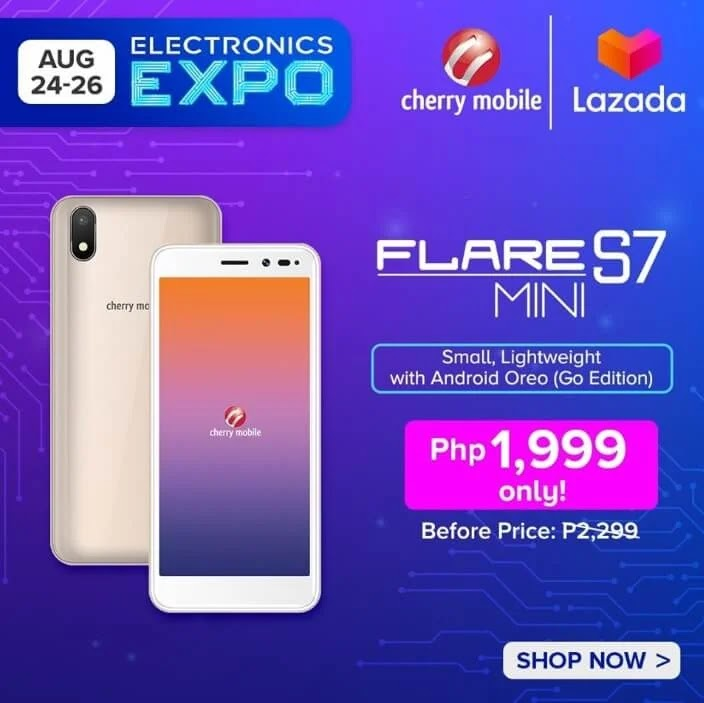 DEAL ALERT: Cherry Mobile Flare S7 Mini on Sale for Only Php1,999 (Instead of Php2,299)