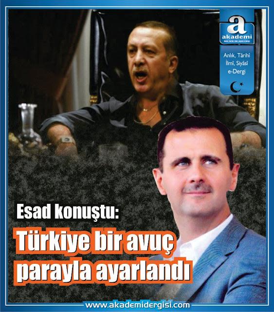 """Esad konuştu: """"Türkiye bir avuç para ile ayarlandı"""""""