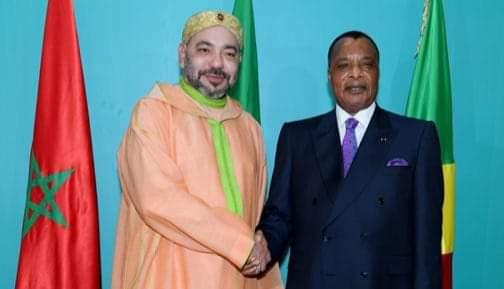 جلالة الملك محمد السادس يهنئ الرئيس الكونغولي بمناسبة العيد الوطني لبلاده
