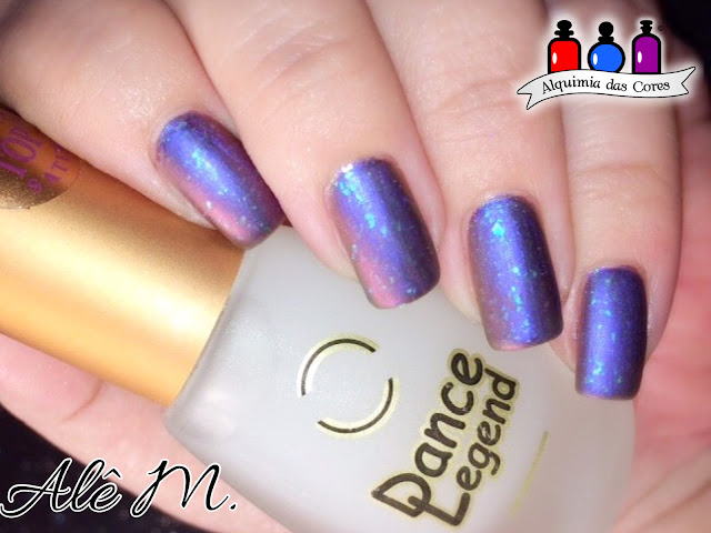 Bow Nail Polish, Andromeda, Top Coat Satin, Dance Legend, Multichrome, Flocado, Alê M.
