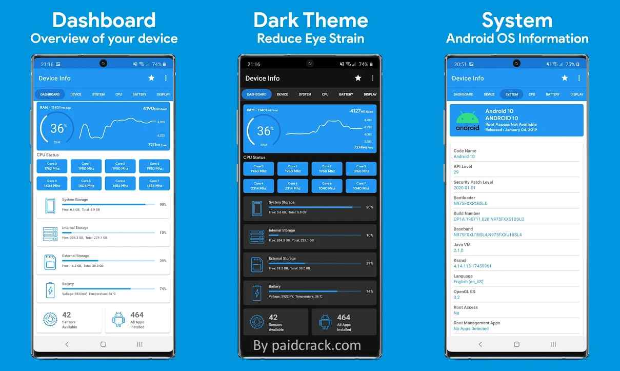 Device Info - View Device Information Premium Mod Apk 2.2.7