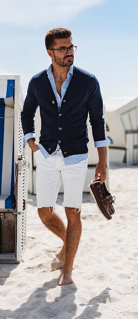 Dica: Como Estilizar Short e bermudas Masculinos para o Verão