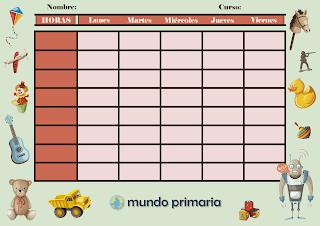 horario para tu escuela de calidad
