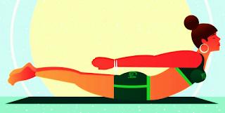 Shalabhasana Yoga  | शलभासन योग