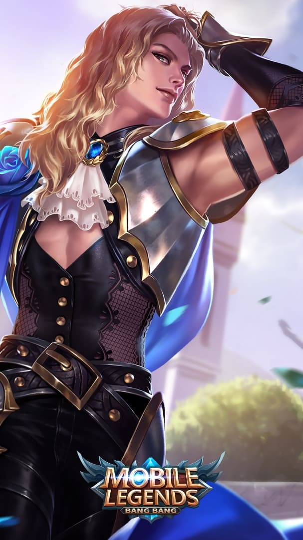 Wallpaper Lancelot Perfumed Knight Skin Mobile Legends HD for Android and iOS
