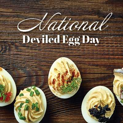 National Deviled Egg Day Wishes Beautiful Image
