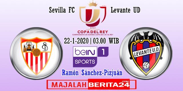 Prediksi Sevilla vs Levante — 22 Januari 2020